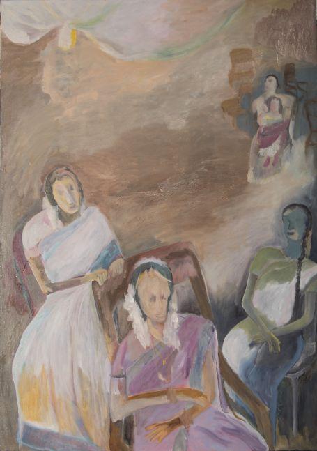 Sosa Joseph Waits, 2014, oil on canvas, 81 x 61 cm / 31.8 x 24 in