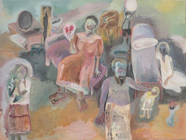 Sosa Joseph Episode, 2015, oil on canvas, 91.4 x 122 cm / 36 x 48 in