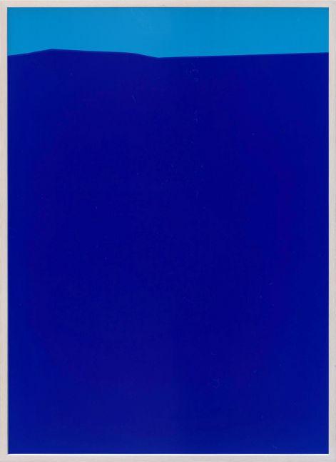 Oben Hellblau (Light Blue Above), Frank Mädler, 2020