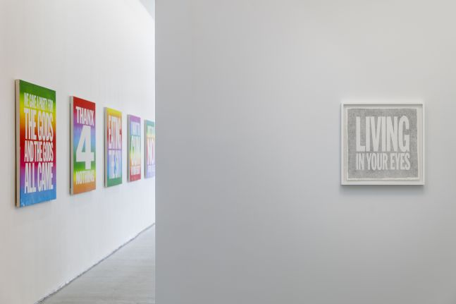 Installation view of Space Forgets You at Elizabeth Dee Gallery, 2015