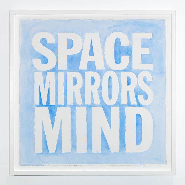 Space Mirrors Mind, 2019