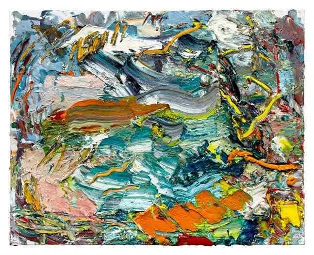 """Ying Li, Grassy Waters 24"""" x 30""""   Oil On Linen"""