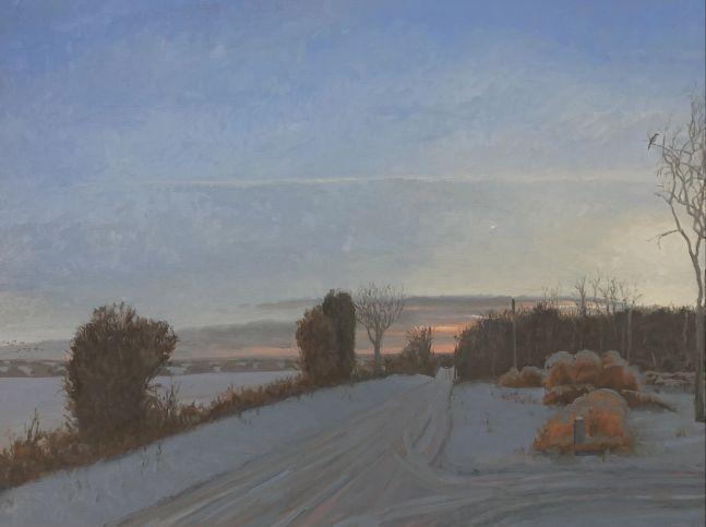 "Max Mason, Venus Rising 30"" x 40""  Oil On Canvas"