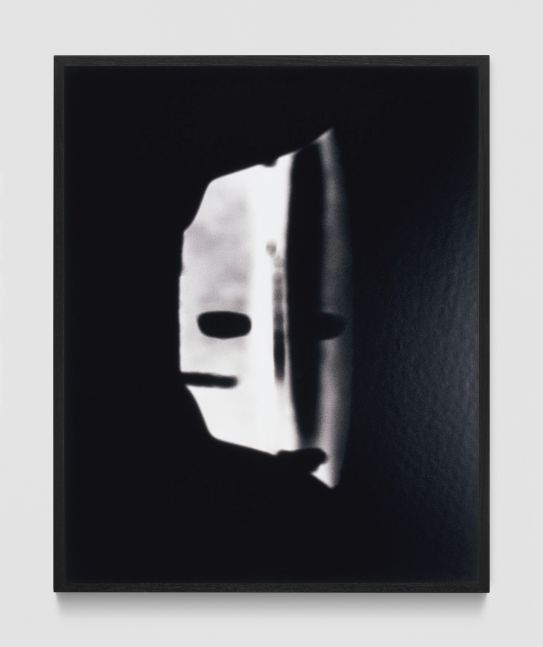 MARTIN BOYCE  Phantom Mask  2003  Gelatin silver print; framed  Ed. 3/10 + 2 AP  Frame 52.5 x 42 x 3.5 cm / 20 5/8 x 16 1/2 x 1 3/8 in  BOYCE34227