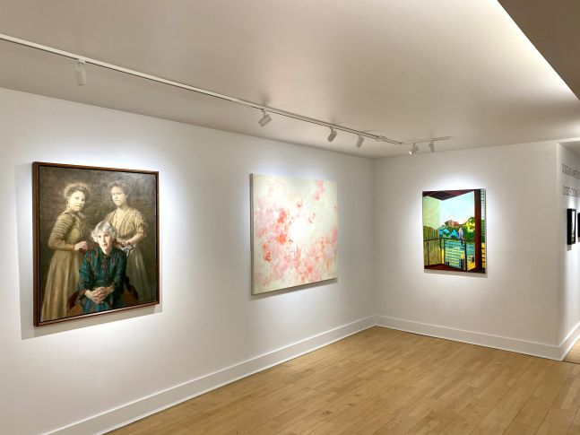 Inside Looking Out, a Group Exhibition, Installation Shot