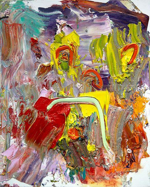"Red Tulip #2  20"" x 16""  Oil On Linen"