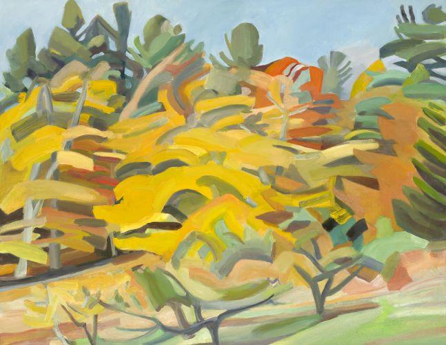 """West Dummerston  28"""" x 36""""  Oil On Canvas"""