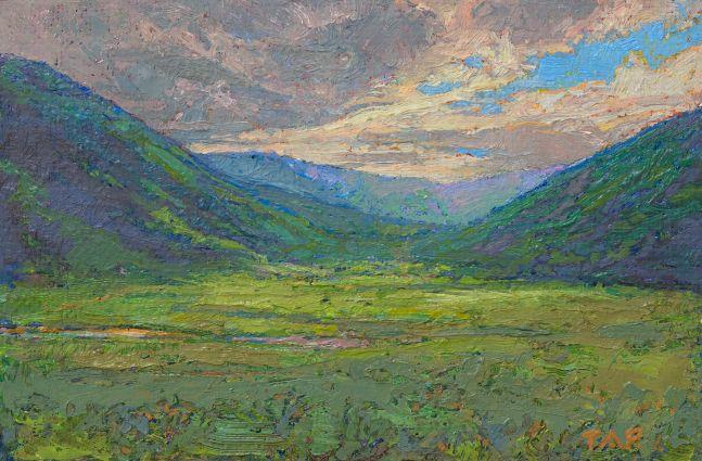 """Study: Glen Alladale  4"""" x 5.75  Oil/Linen"""