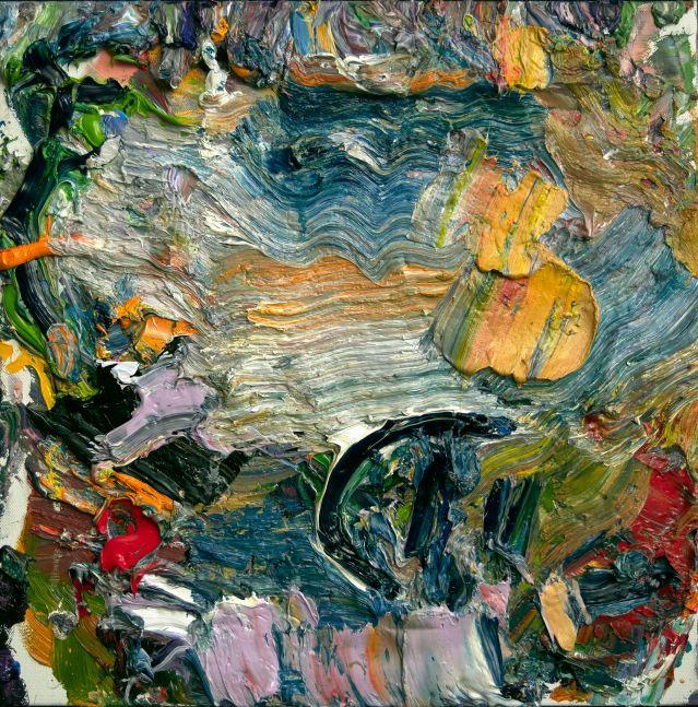 """Roma #4  16"""" x 16""""  Oil On Linen"""