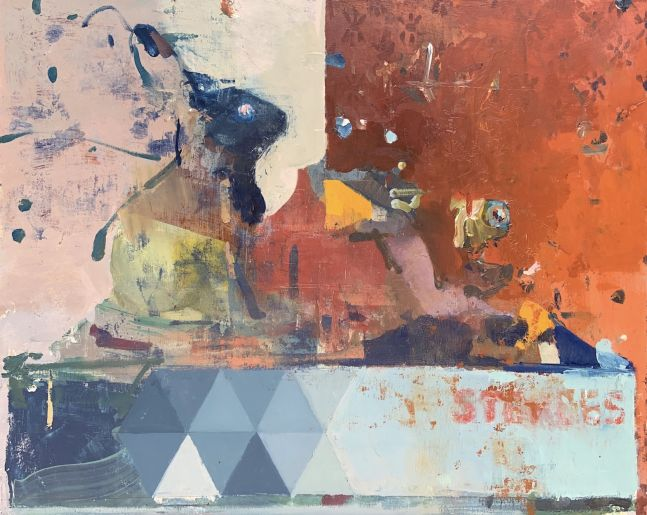 """Still Life  18"""" x 22""""  Oil On Board"""