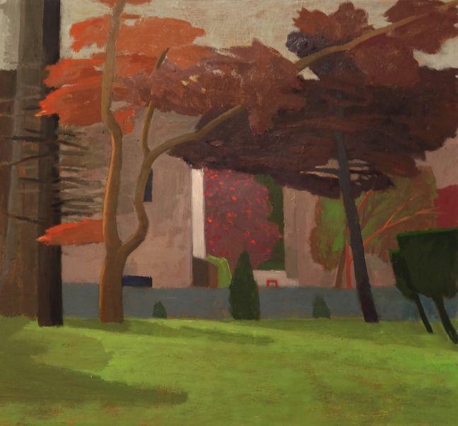 Celia Reisman, On the Way, oil on canvas, 20 x 22 inches