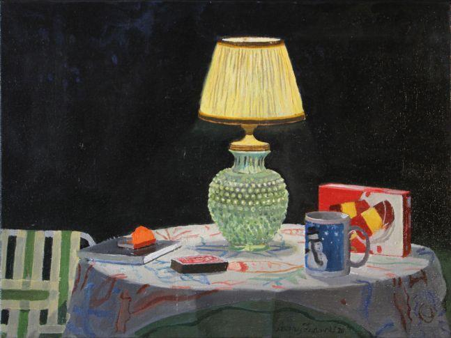 """Night Light  12"""" x 16""""  Oil On Canvas"""