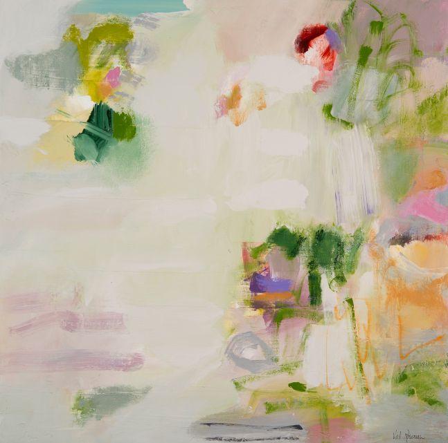 """Way That Feels Fresh  24"""" x 24""""   Acrylic On Canvas"""