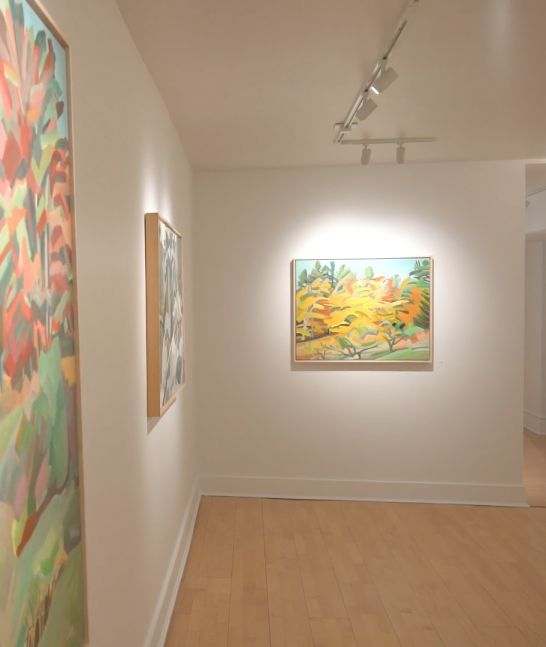 Martha Armstrong: Trees, Seas and Objects, Installation Shot