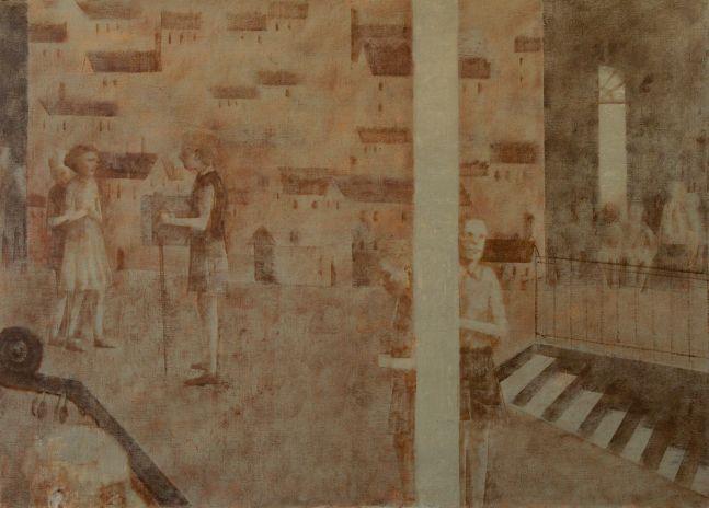 "Rehearsal III  24"" x 34""  Oil On Canvas"