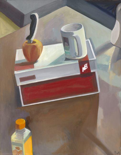"New Balance  28"" x 22""  Oil On Canvas"