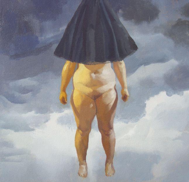 "Antagonist  26"" x 26""  Acrylic On Canvas"
