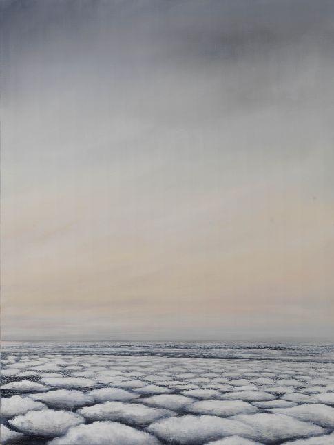 "Sky Over Gemini South Georgia  40"" x 30""  Oil On Linen"