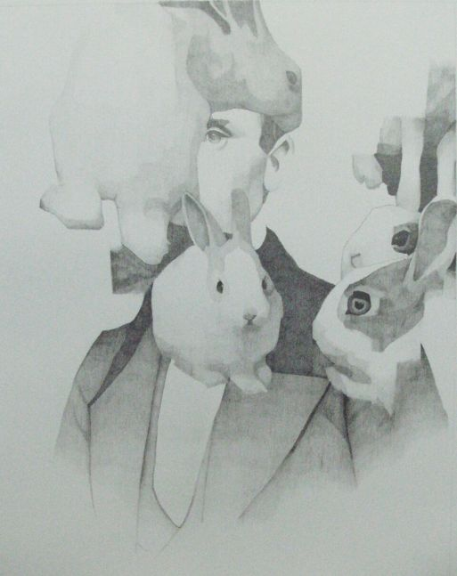 """Joseph Lozano, William Walker  20"""" x 16""""  pencil on paper"""