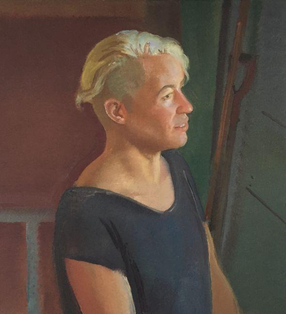 "Portrait of Carol  26"" x 20""  Oil On Linen"