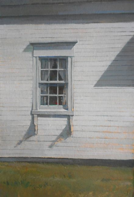 "Triangle Shadow  22"" x 15""  Oil On Canvas"