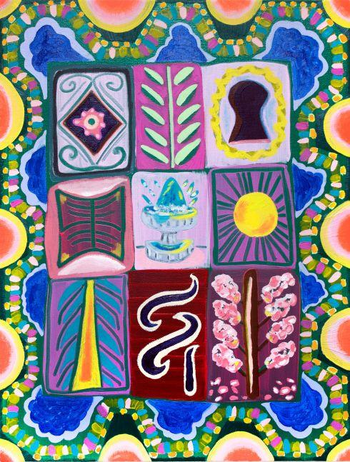 """The Key & The Calendar  24"""" x 18""""  Oil On Canvas"""