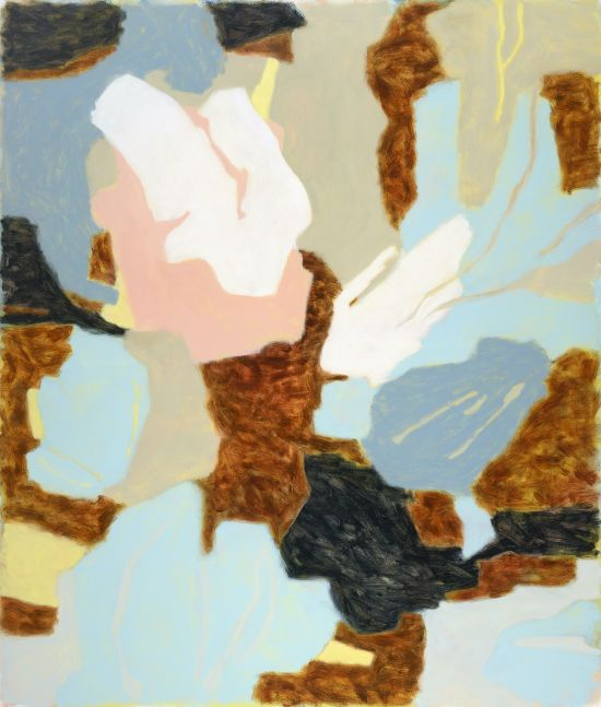 "Bridge  48"" x 41""  Oil On Canvas"