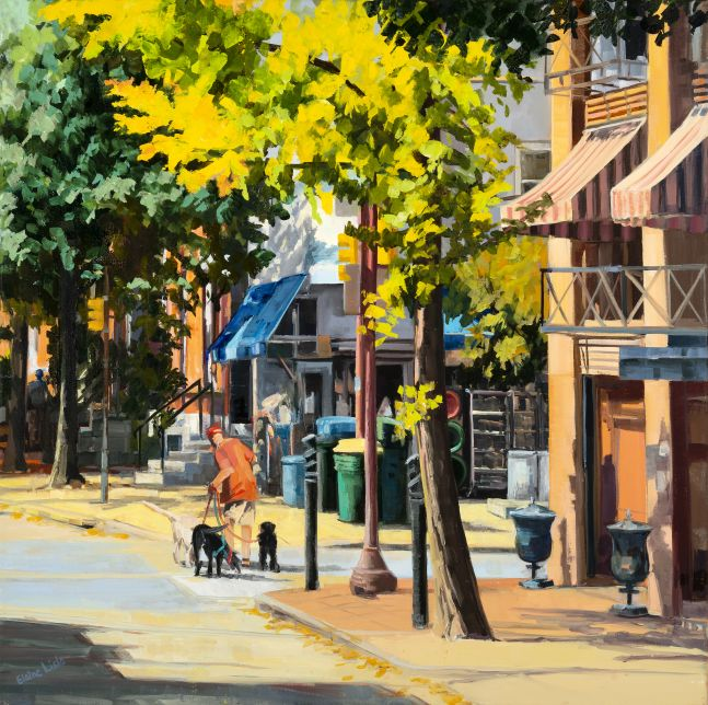 "Rittenhouse Hardware  24"" x 24""  Oil On Canvas"