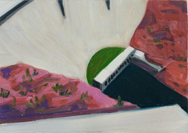 "Glen Canyon Dam   13"" x 15""  Oil/Canvas On Panel"