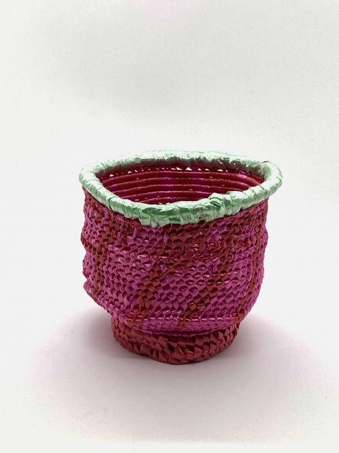 "Lime Green Rim  4"" x 3"" x 3""  Polyester Ribbon, Ribbon, And Polyester Cording"
