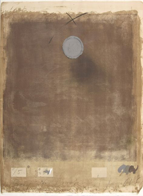 George Stever, Warming Up Grey, 1973, Lithograph with 3D elements in acrylic paint, 41.5 x 29.5 inches, Proof 1 of 5, for sale
