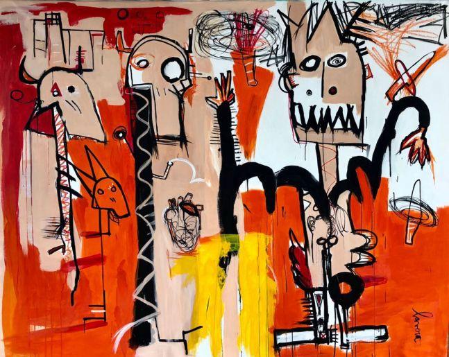 Fernanda Lavera, Plan de Fuga, 2019, Graffiti and Street Art for Sale at Manolis Projects Art Gallery, Miami, Fl