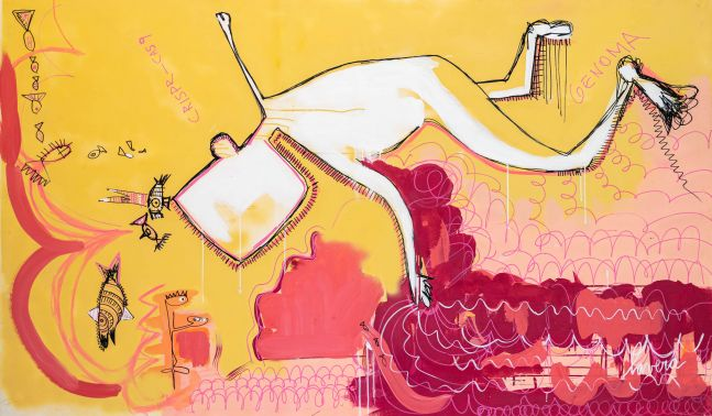 Fernanda Lavera, Manipulación Genética, 2020, Contemporary Art for sale at Manolis Projects Art Gallery, Miami, Fl