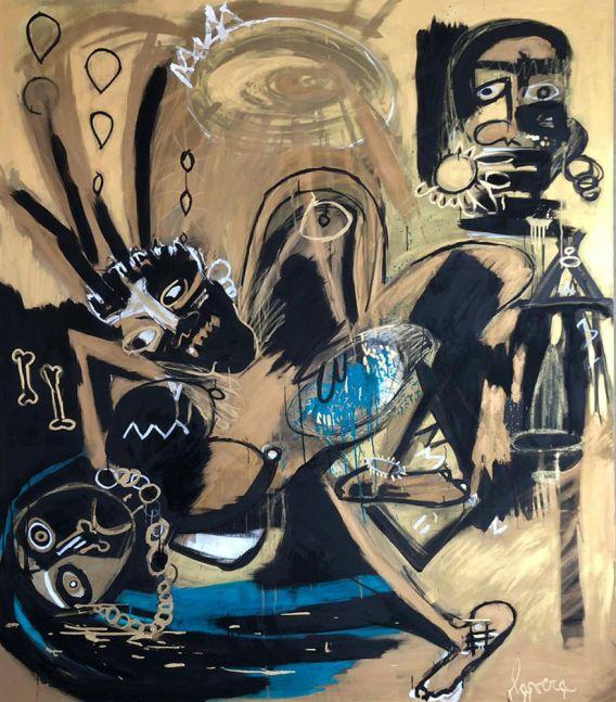 Fernanda Lavera, Octavo Mandamiento, 2014, Graffiti and Street Art for Sale at Manolis Projects Art Gallery, Miami, Fl