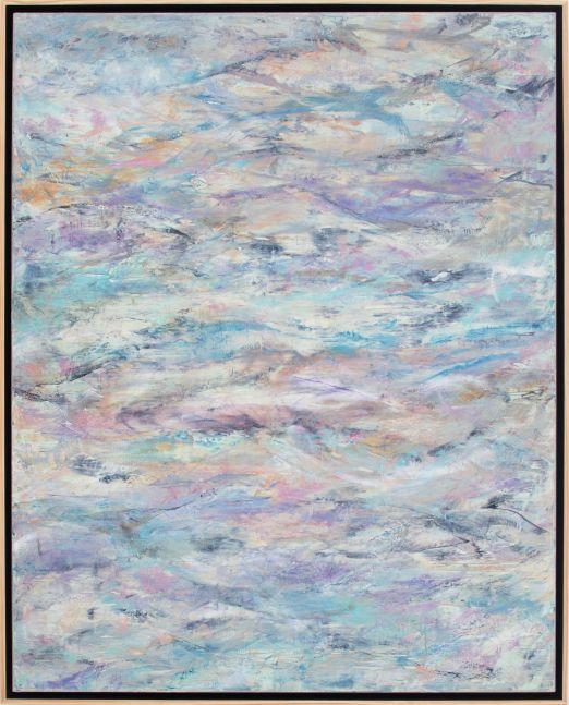 Jill Krutick, Waves II, 2018, 60 x 48 inches, Acrylic on Canvas
