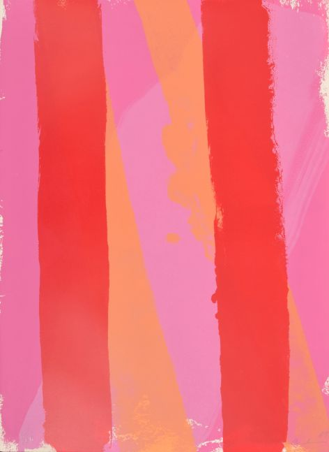 Edward Avedisian, Blush House, 1969, Lithograph on paper, 30 x 22 inches, Edition 63/100, Edward Avedisian artworks for sale