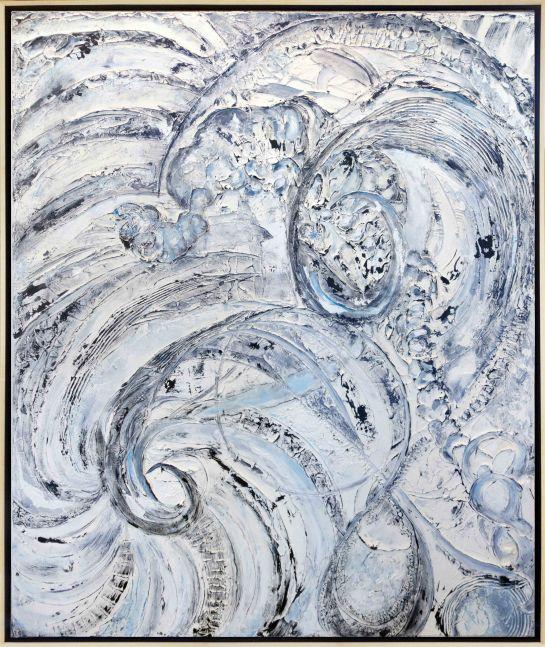 Jill Krutick  Windswept, 2019 Acrylic on Canvas 72 x 60 inches