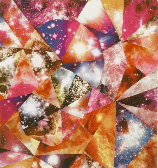 James Rosenquist, Fractal Towards Zero, 2012, Laser print on paper, 11 x 9 inches, James Rosenquist prints