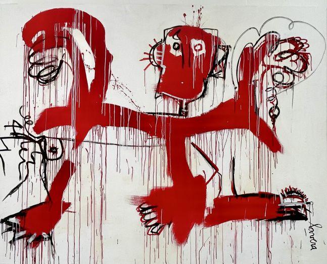 Fernanda Lavera, Danza con el Diablo, 2019, For sale at Manolis Projects Gallery, Miami. FL