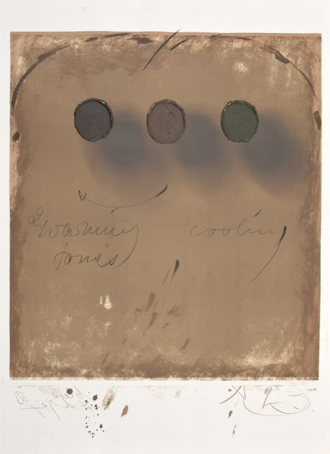 George Stever, Warming Cooling Tones, 1973, Lithograph with 3D elements in acrylic paint, 41.5 x 29.5 inches, Proof 1 of 5, for sale