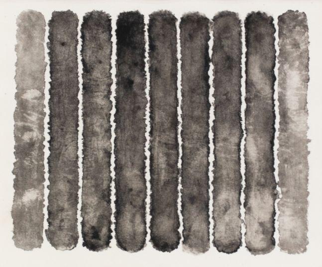 J. Steven Manolis, Molecules (Black & White), 2008, watercolor, 18 x 20 inches, For sale at Manolis Projects Art Gallery, Miami Fl