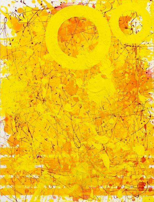 J. Steven Manolis, Sunshine (33.22.03), Acrylic-watercolor-arches paper, 33 x 22