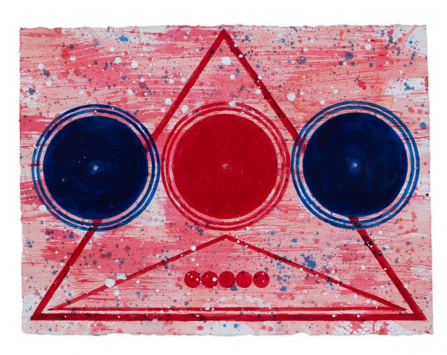 J. Steven Manolis, Happy Birthday America (2019.02), 2019, 22.5 x 30 inches, For sale at Manolis Projects Art Gallery, Miami, Fl