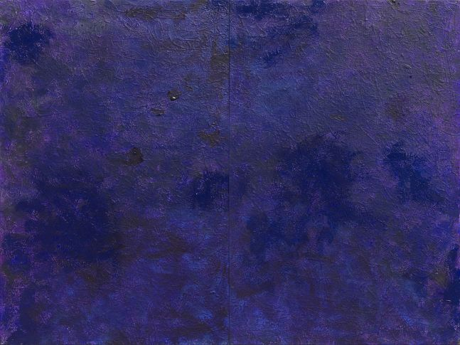 J. Steven Manolis, PurpleField, 2017, 48 x 72 inches, 2017.01, Acrylic on canvas, For sale at Manolis Projects Art Gallery, Miami Fl