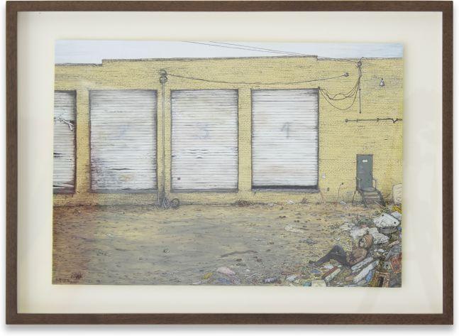 Nancy Jackson, Warehouse, 2018