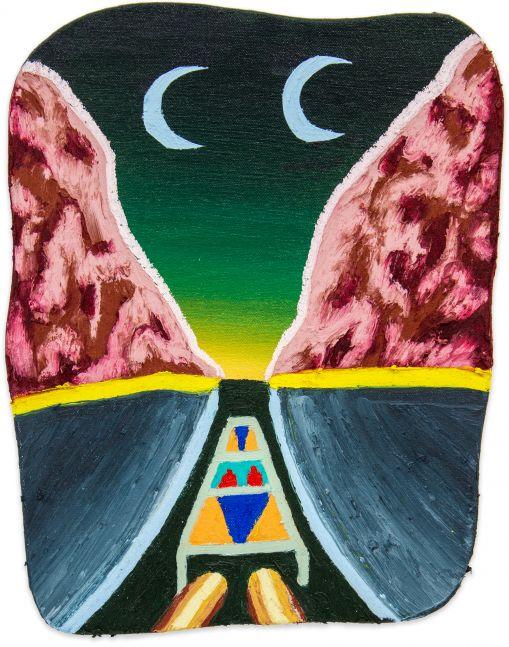 Eliot Greenwald, Night Car (seasonal figure 4)