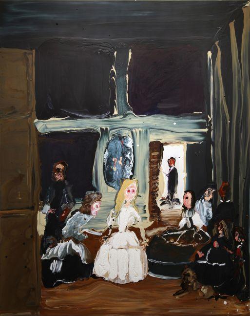 Genieve Figgis, Las Meninas After Velázquez, 2016