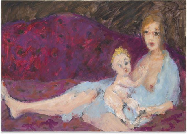 Eva Beresin, Untitled (Mom & Baby), 2020