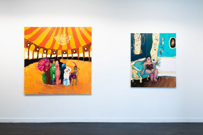 The Circus Has Been Cancelled - installation view