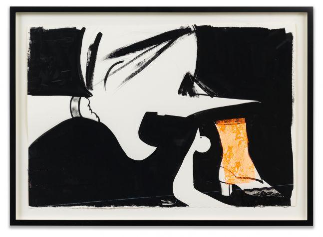 Ellen Berkenblit, Untitled, 2018